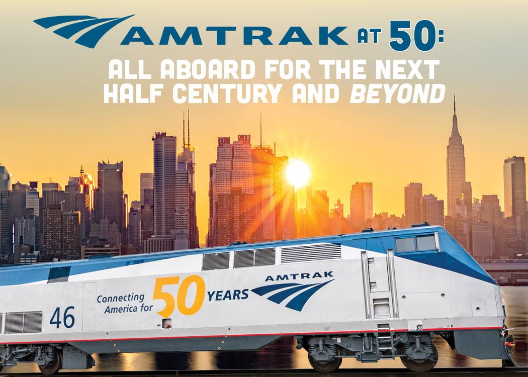 Amtrak 50th Anniversary