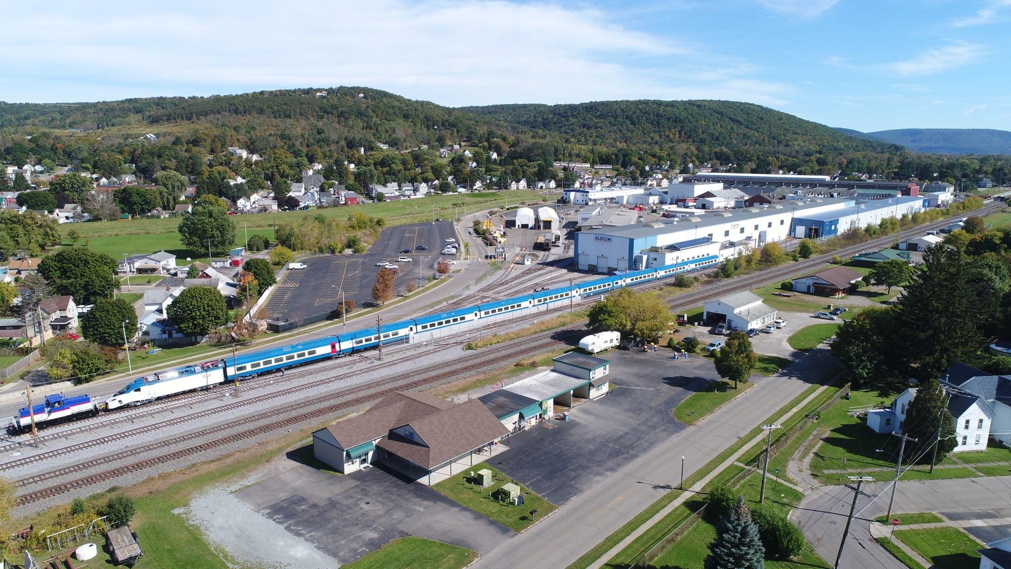 Amtrak Acela Trains at Alstom