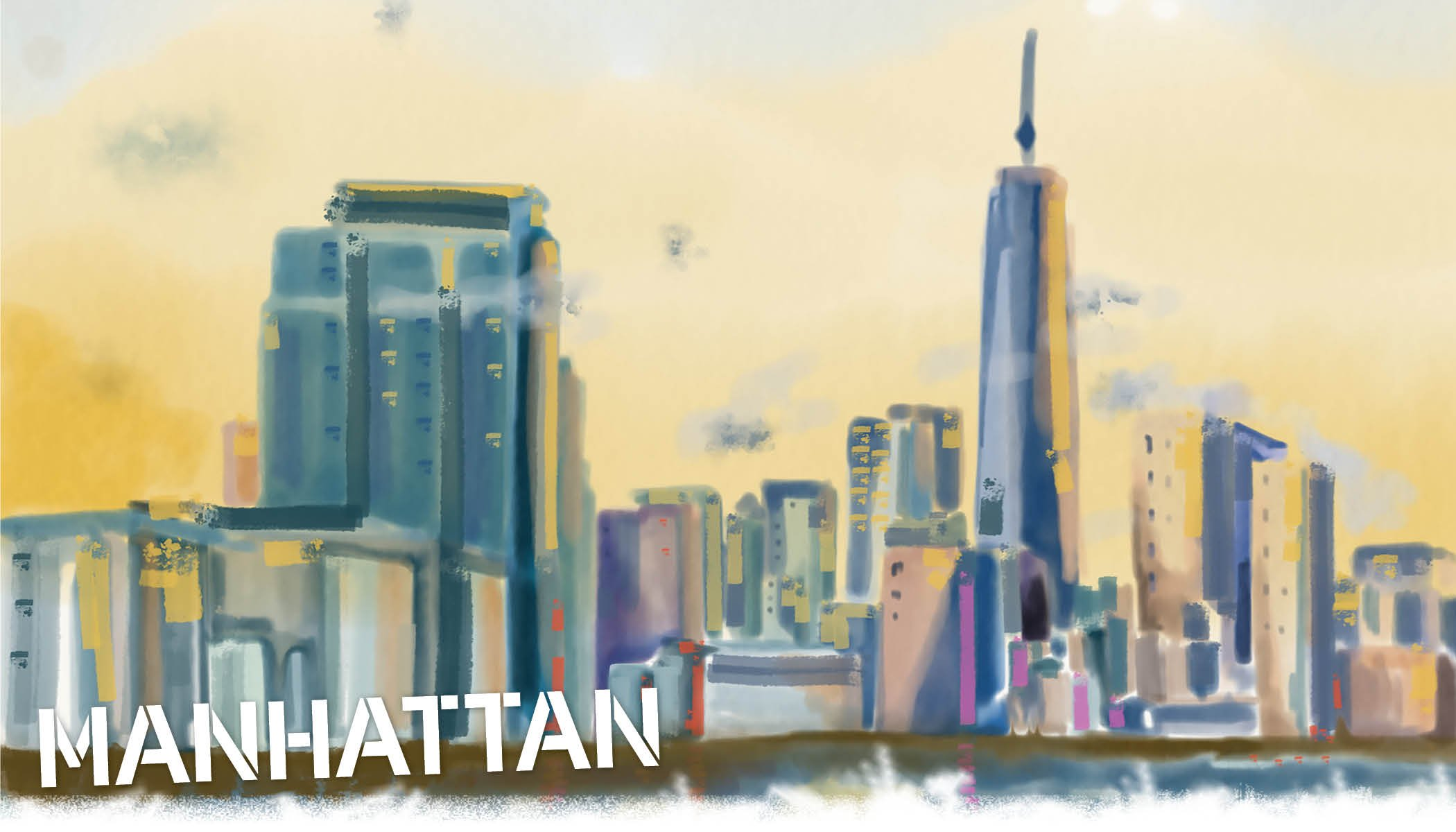 Manhattan Skyline is unlike any other