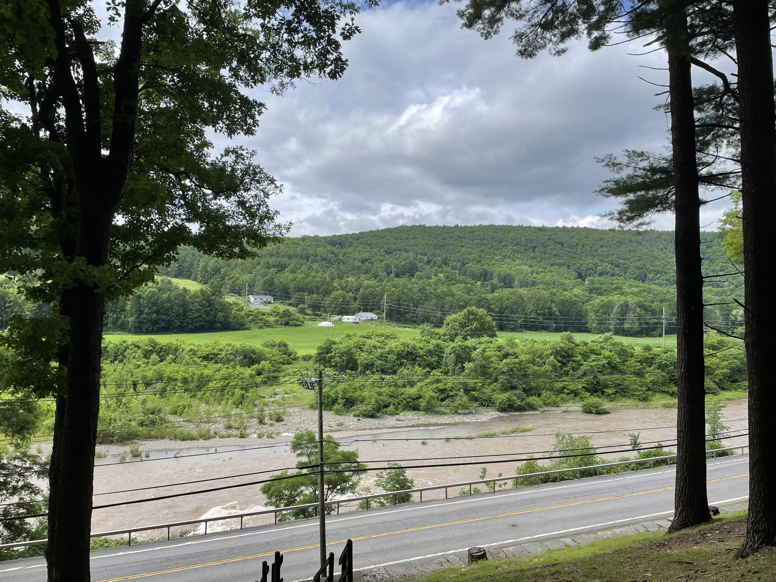 View of the Catskills from Pratt Rock