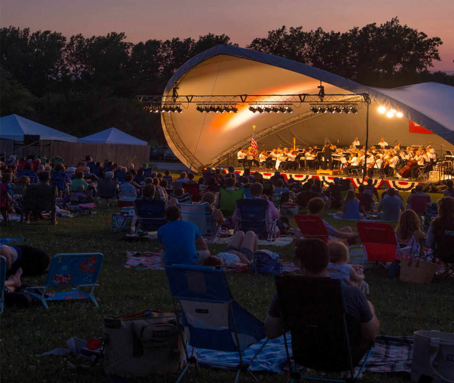 Paramount Outside the Box: Vermont Symphony Orchestra Under the Stars