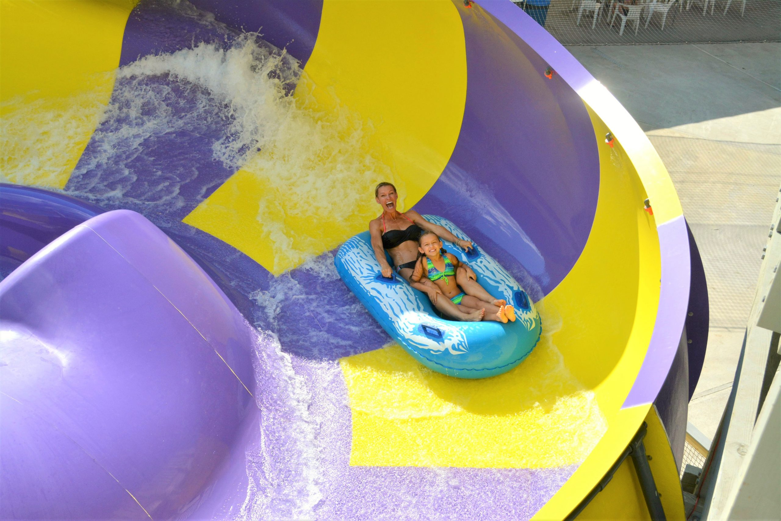 Typhoon Twister at Zoom Flume Water Park