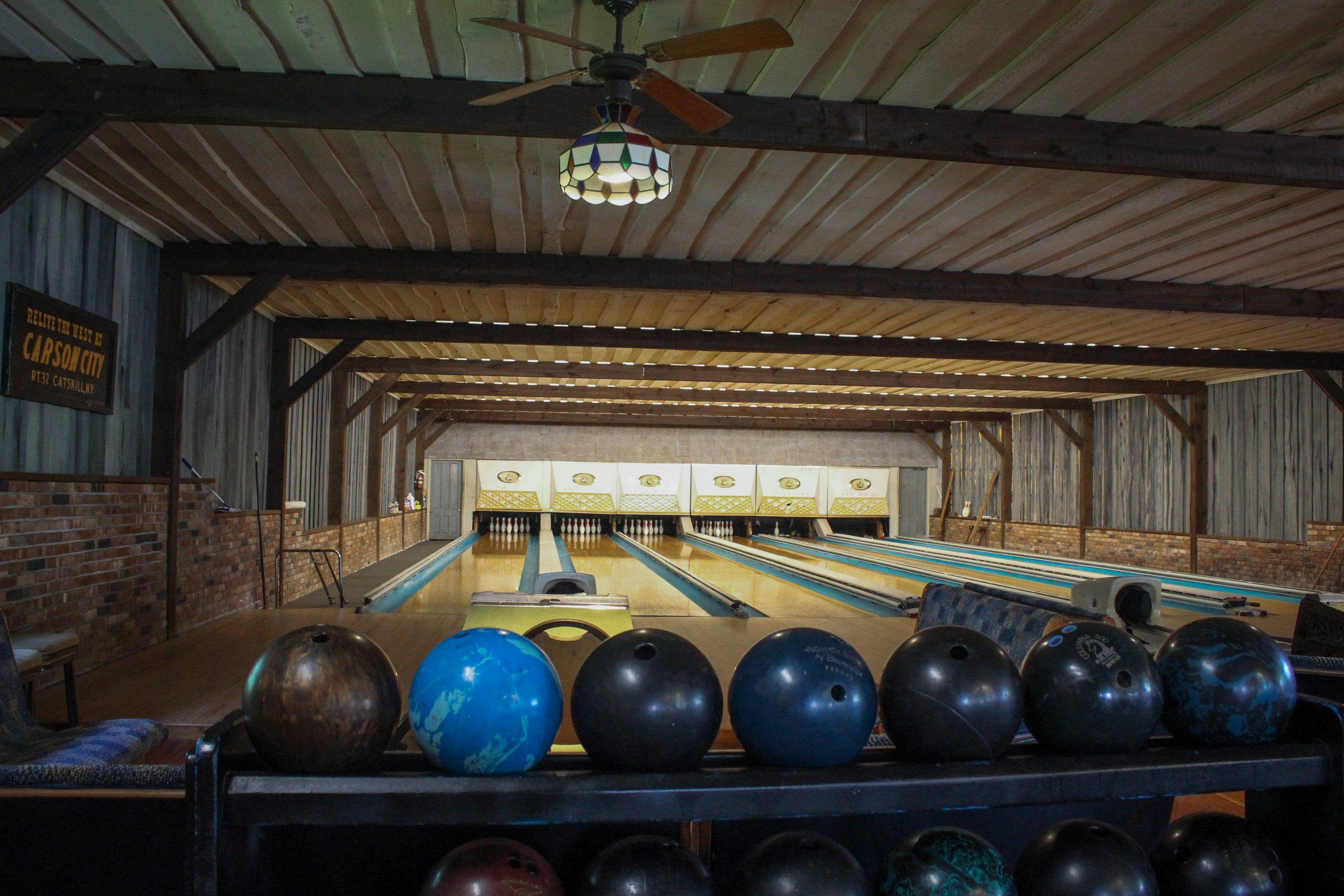 Bowling Alley at Winter Clove Inn & Resort