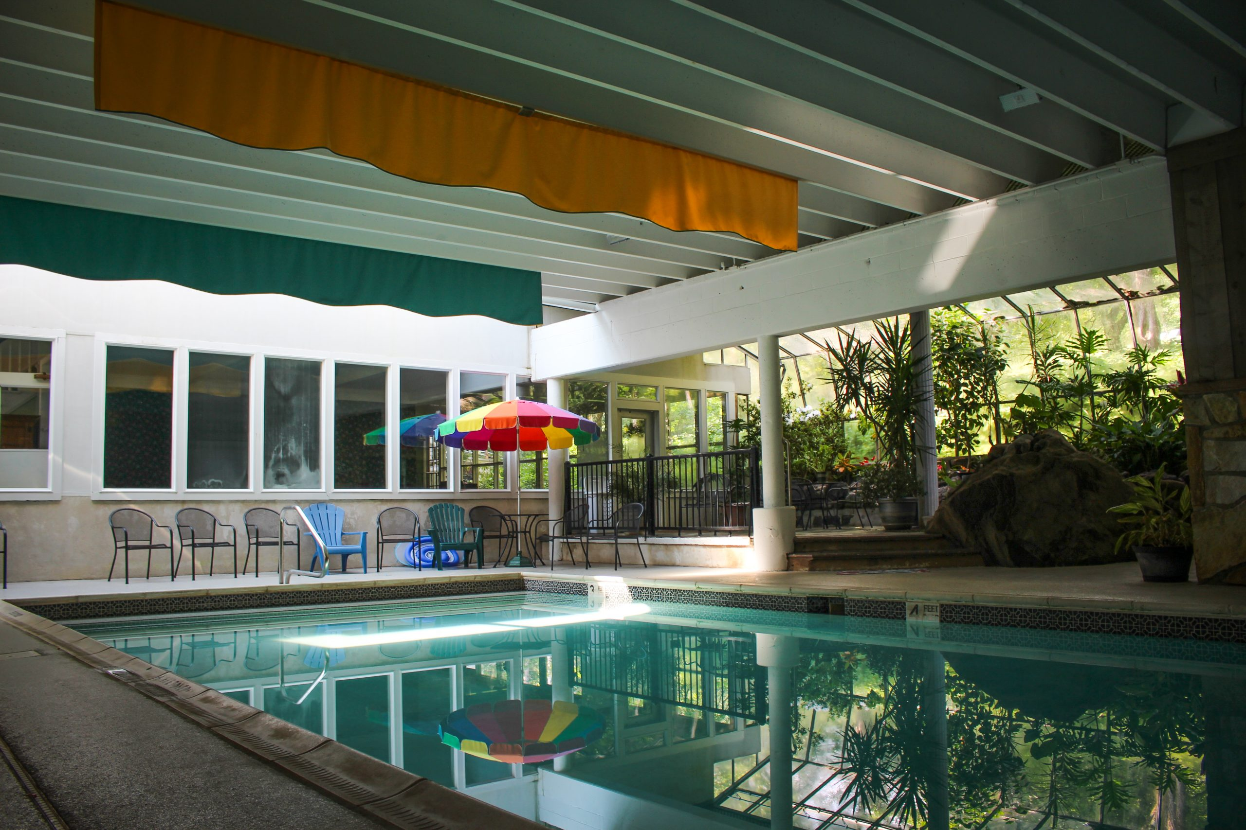 Indoor Pool at Winter Clove Inn & Resort
