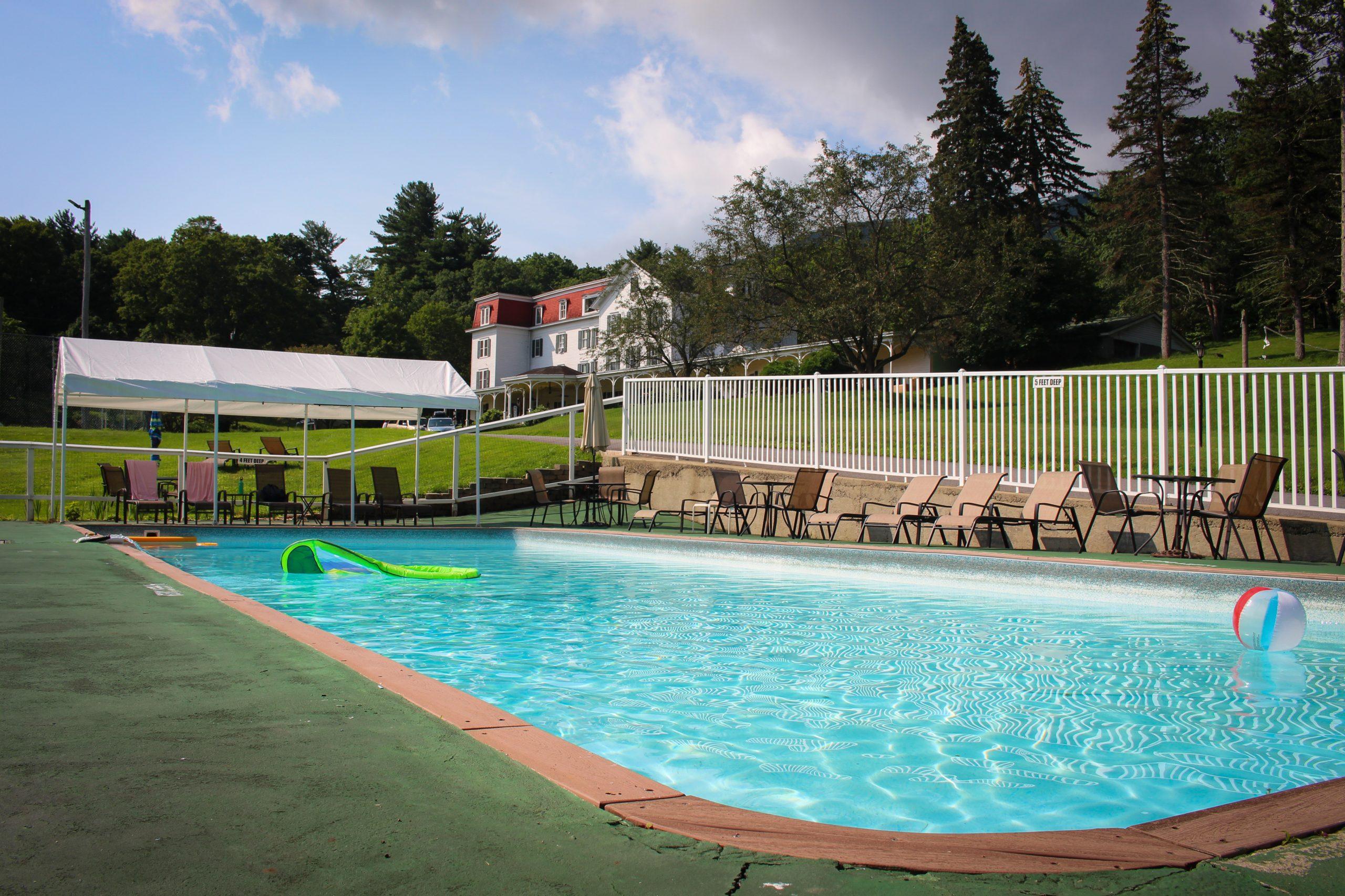 Outdoor Pool at Winter Clove Inn & Resort