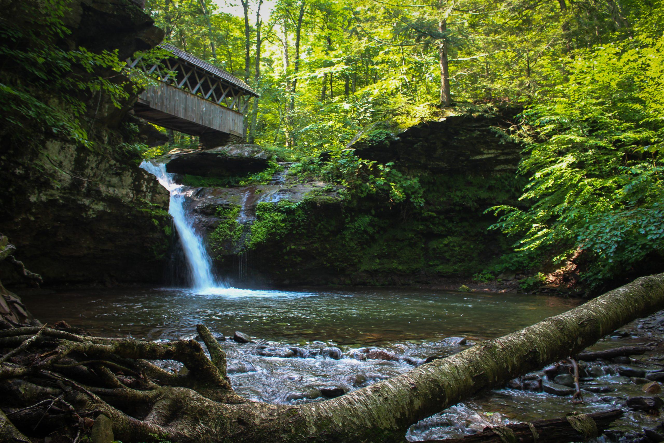 Waterfall at Winter Clove Inn & Resort