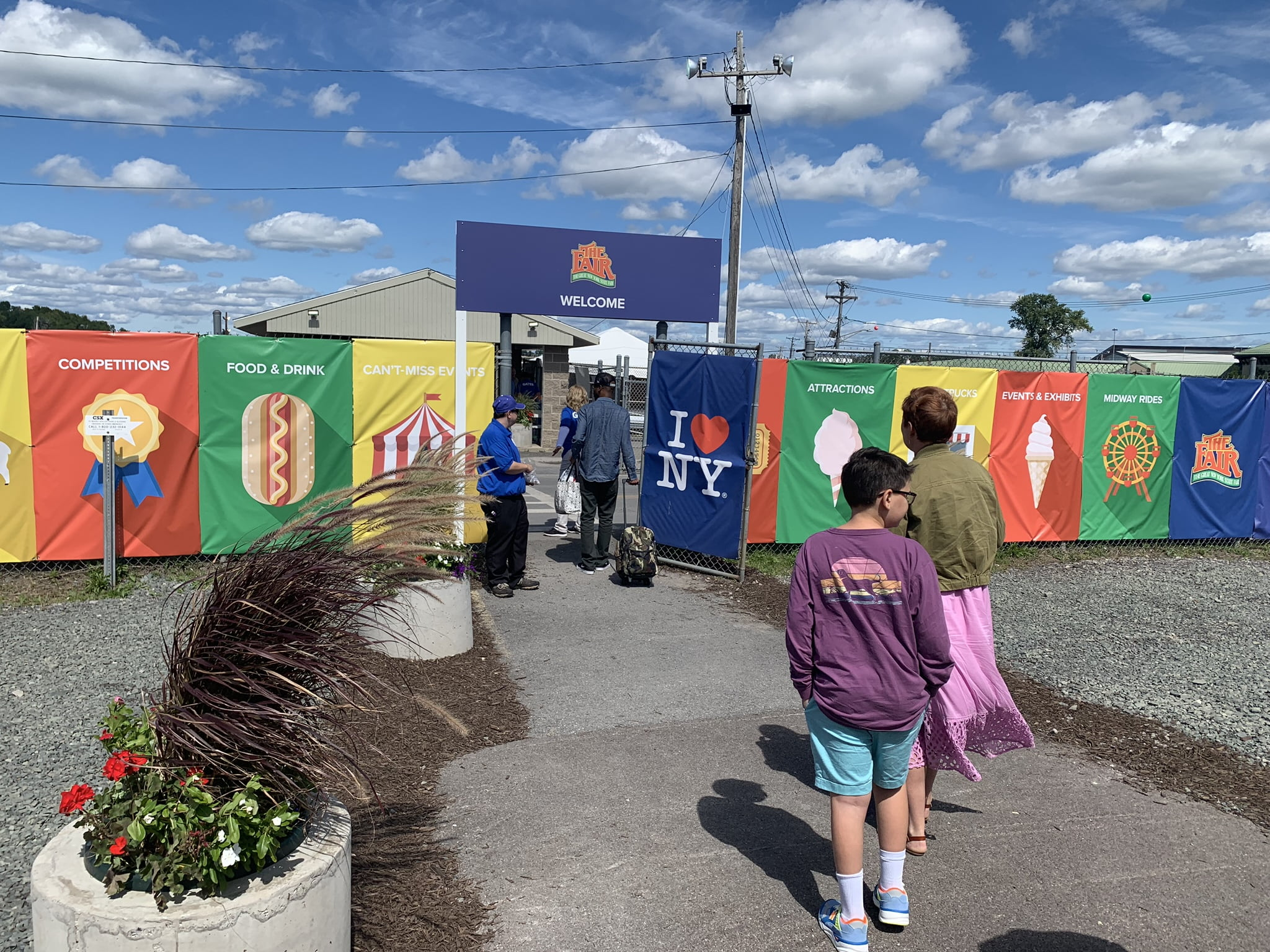 Entrance to the NY State Fair