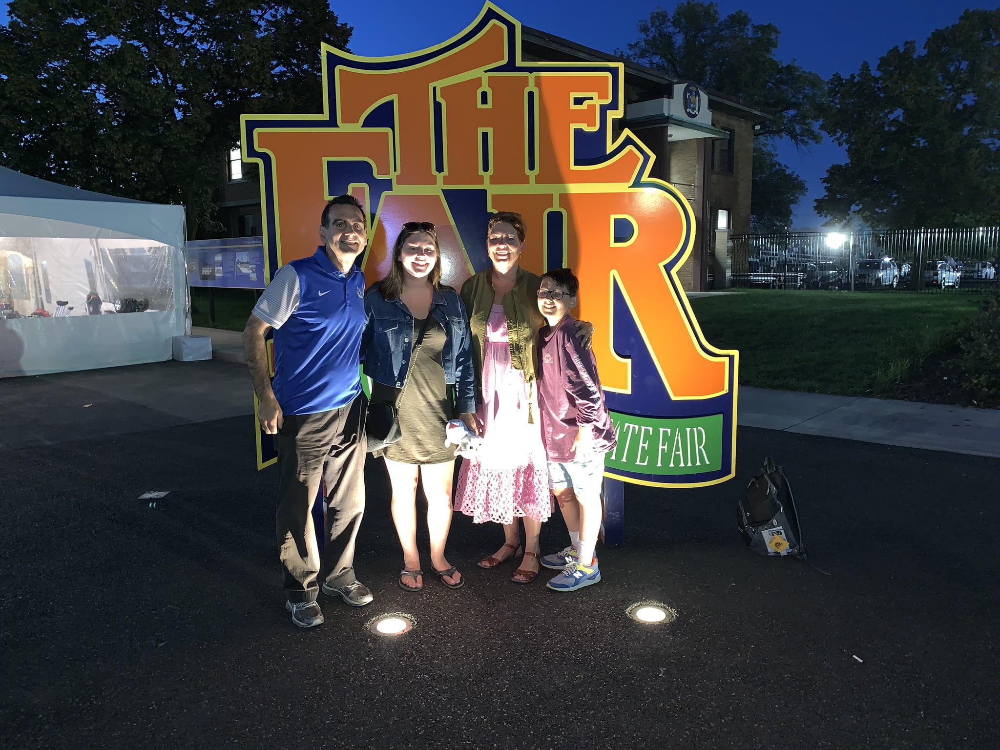 The Martinelli Family at the New York State Fair