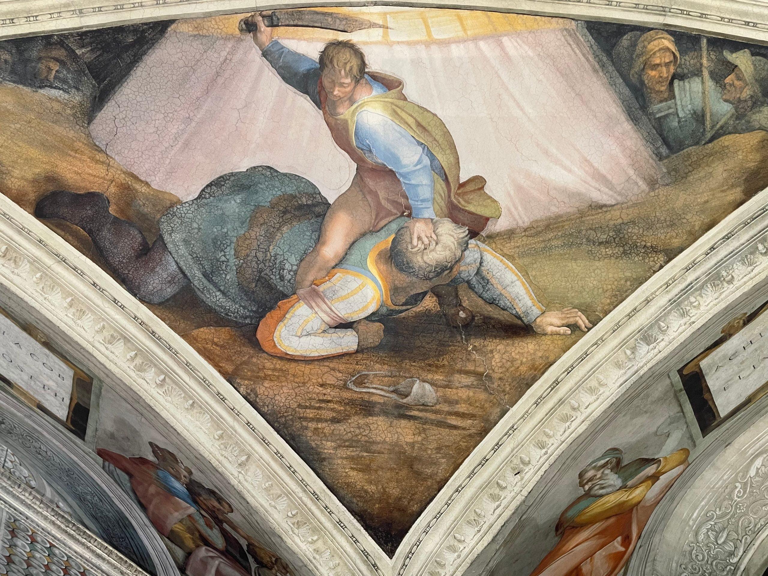 Michelangelo - David and Goliath