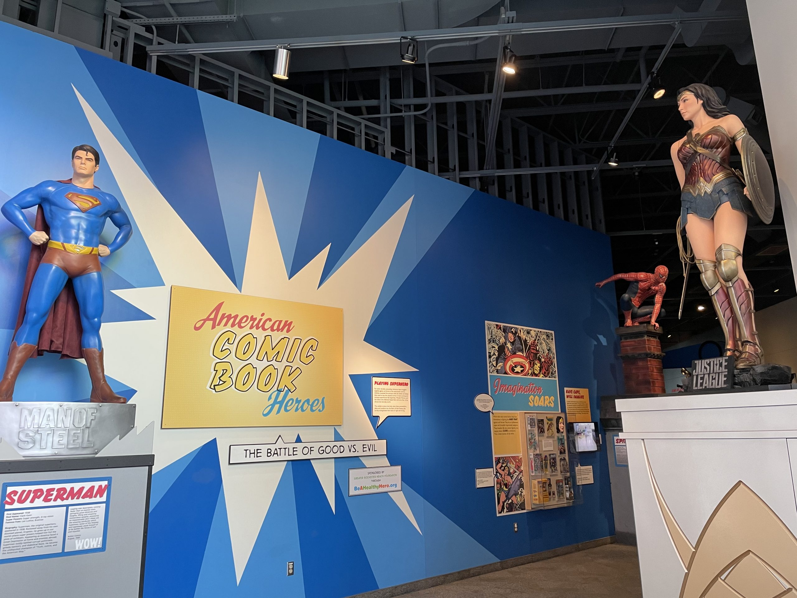 Strong National Museum of Play, American Comic Book Heroes