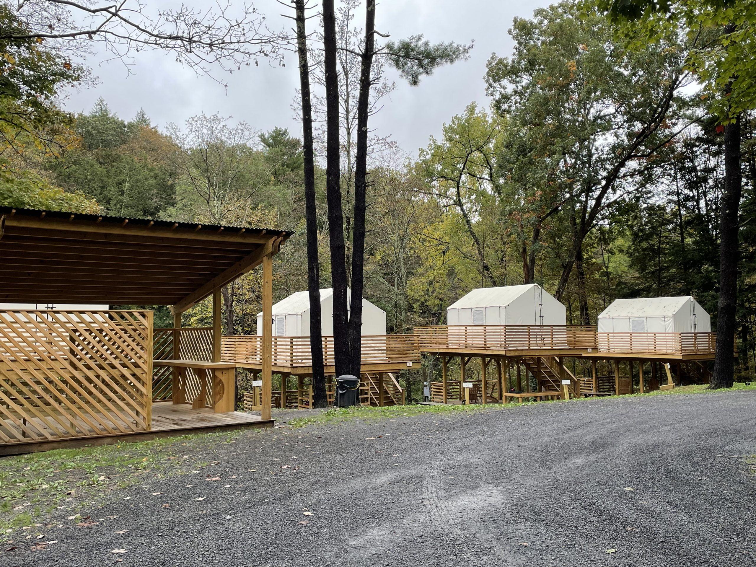 Treetopia Campground Tents