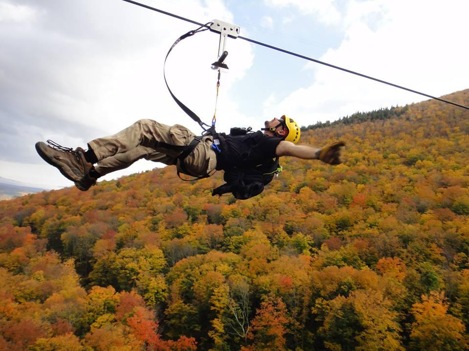 NY Zipline Adventure Tours SkyRider
