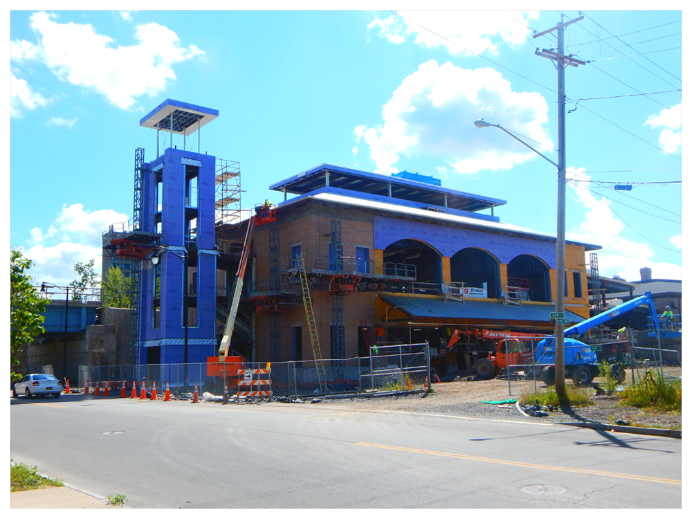 Amtrak Moves to New Niagara Falls Station—Photo By Adam Moss | New York By Rail